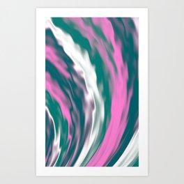 Cold flames Art Print