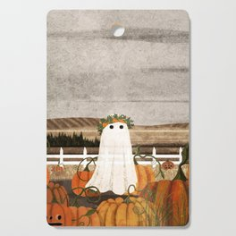 There's a Ghost in the Pumpkins Patch Again... Cutting Board