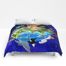A World of Animals Comforters