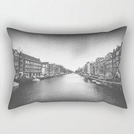 Caught in a Constant Sea Rectangular Pillow