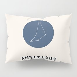 Horoscope Square: Capricorn Pillow Sham