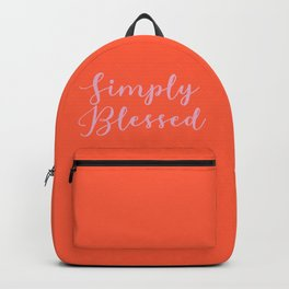Simply Blessed Backpack