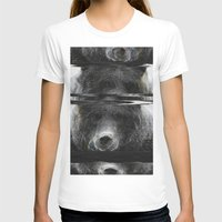glitch T-shirts featuring Bear Glitch by Cedric S Touati