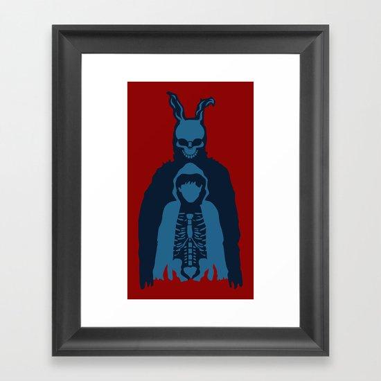 His Name is Frank Framed Art Print
