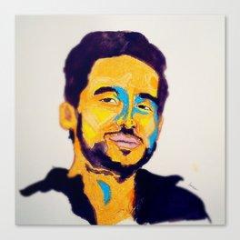 Mario #facesilove Canvas Print