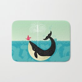 The Bird and The Whale Bath Mat