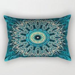 Candys Mandala Art 3 Rectangular Pillow
