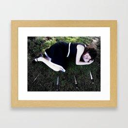 Tenterhooks Framed Art Print