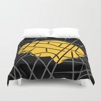 conan Duvet Covers featuring Sherlock by Lorcy