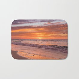 Sunset at Bean Point 3 Bath Mat