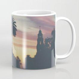 Sunset in Balboa Park print Coffee Mug