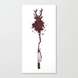Hannibal Stag Canvas Print