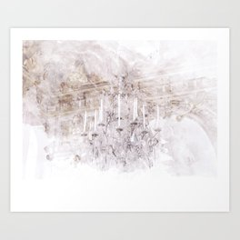 Palace Chandelier 1 Art Print