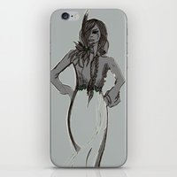 depeche mode iPhone & iPod Skins featuring Mode by Pagan