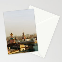 Rooftop of Moscow Stationery Cards