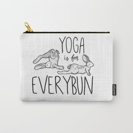Yoga is for Everybun Carry-All Pouch