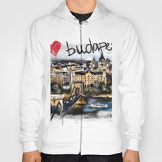 I love Budapest Hoody