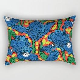 Irises Rectangular Pillow
