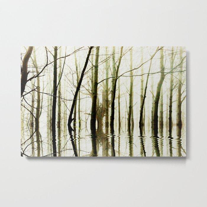 TREE TONES Metal Print