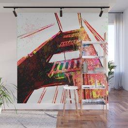 Golden Gate Bridge - San Francisco - Pop Art Wall Mural