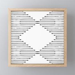 Geo Framed Mini Art Print