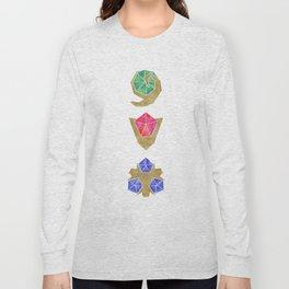 Spiritual Stones the Legend of Zelda Long Sleeve T-shirt