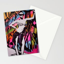 Who's That Girl ??? Stationery Cards