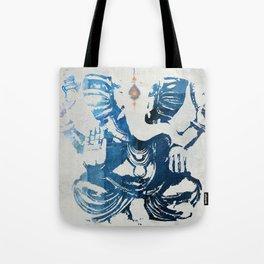 GANESHA indigo Tote Bag
