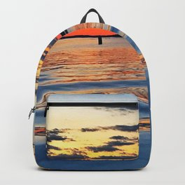 Sunset In the Hamptons Backpack