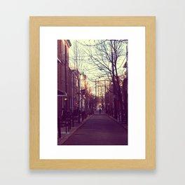 Philadelphia Street Photography Framed Art Print