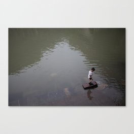 chinese kid Canvas Print