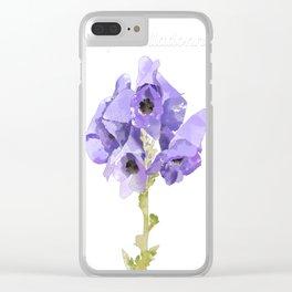 Atropa belladonna Clear iPhone Case