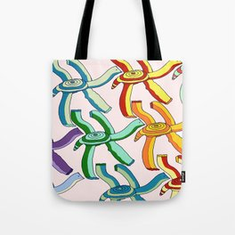 Marching Turtles Tote Bag