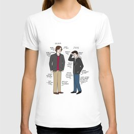 Dean vs. Jess T-shirt