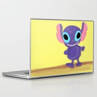 stitch Laptop & iPad Skins featuring stitch by Biansa Naiyananont