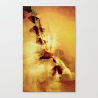 champagne Canvas Prints featuring Champagne by SensualPatterns