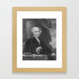 President John Adams Framed Art Print