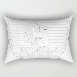 Never-Underestimate-an-Old-Man-Who-Was-Born-in-October Rectangular Pillow