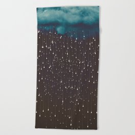 Let It Fall Beach Towel