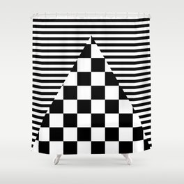 Mixed Patterns Shower Curtain