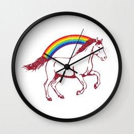 Logan Unicorn Wall Clock