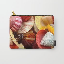 Shells at the Beach Carry-All Pouch