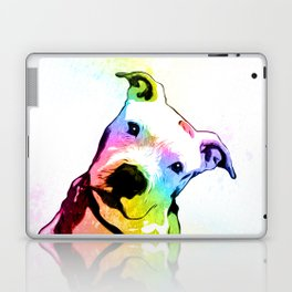 Pit bull | Rainbow Series | Pop Art Laptop & iPad Skin