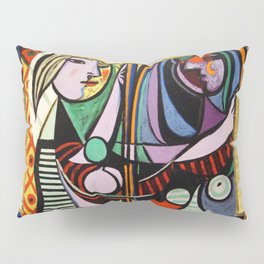 Picasso collage Pillow Sham