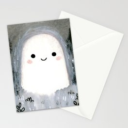 Little ghost for inktober Stationery Cards