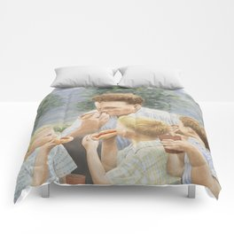 Hot Dogs Comforters