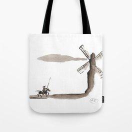 Don Quixote de la Mancha Tote Bag