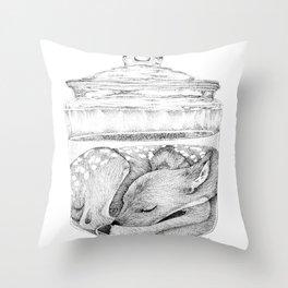 Infinite Sleeper Throw Pillow