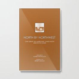North by Northwest Metal Print