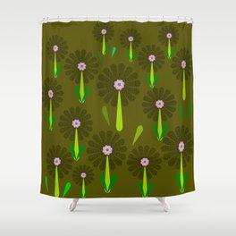 zappwaits Flower Shower Curtain